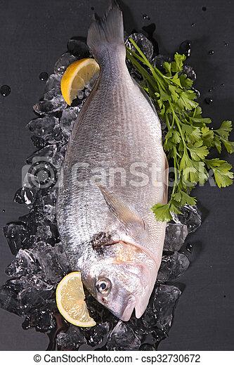 fish, surowy - csp32730672
