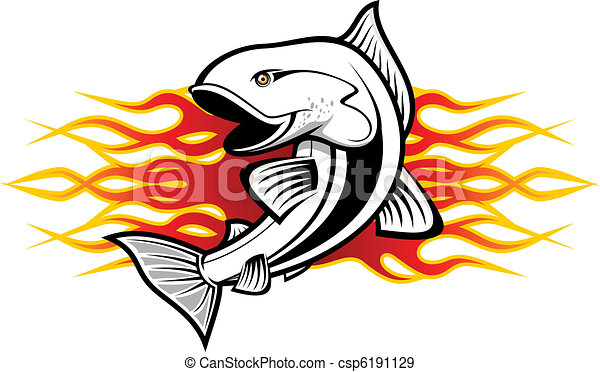 Fish tattoo - csp6191129