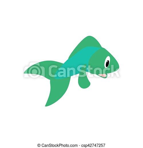 Fish vector illustration - csp42747257