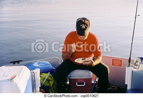 Fisher at Breakfast - csp0010621