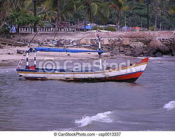 Fisherman's boat - csp0013337