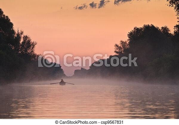 fisherman's boat - csp9567831