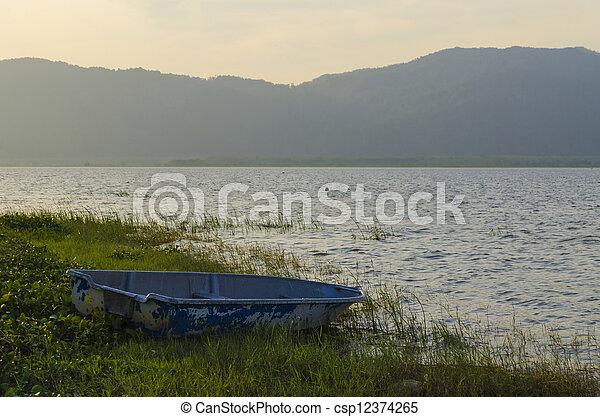 Fisherman's boat - csp12374265
