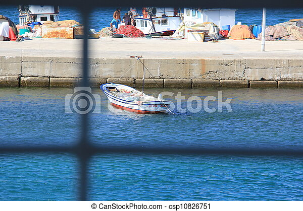 Fisherman's boat - csp10826751
