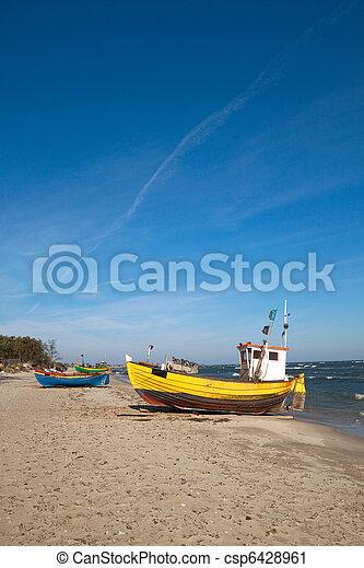 Fishermen boat - csp6428961