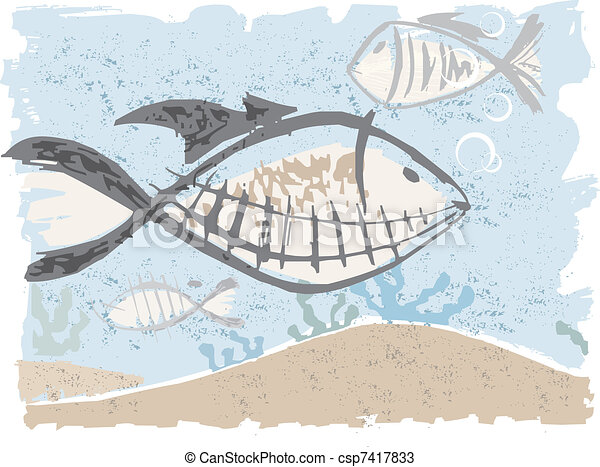fishes under the see - csp7417833