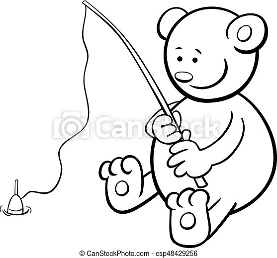 Fish Rod Colouring Pages (page 2) - Coloring Home   424x450