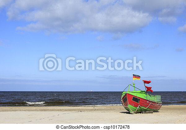Fishing boat Baltic Sea - csp10172478