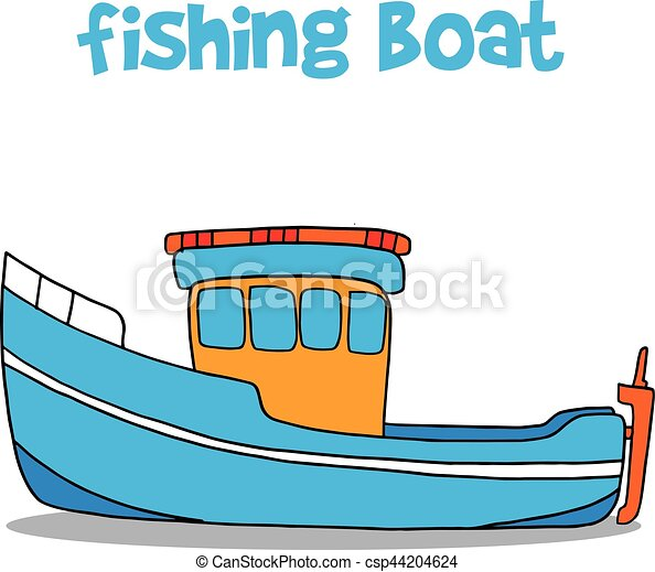 fishing boat cartoon vector art illustration collection vector rh canstockphoto com clipart connection clip art collection buy download