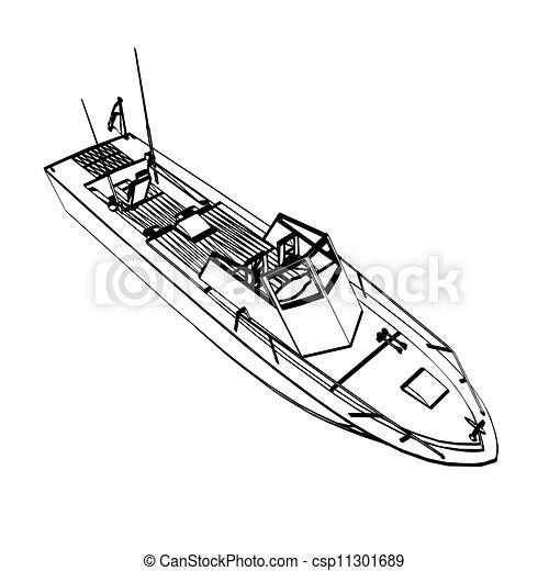 Fishing boat - csp11301689