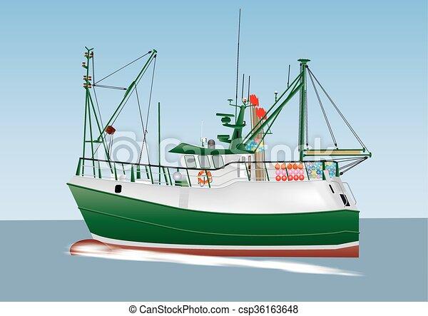 Fishing Boat - csp36163648
