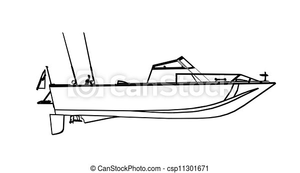 Fishing boat - csp11301671