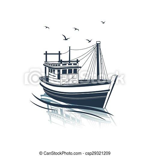 Fishing Boat - csp29321209