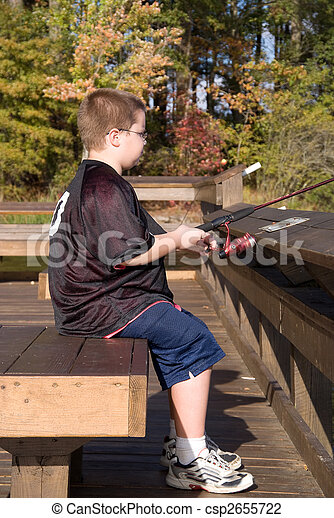 Fishing Boy - csp2655722