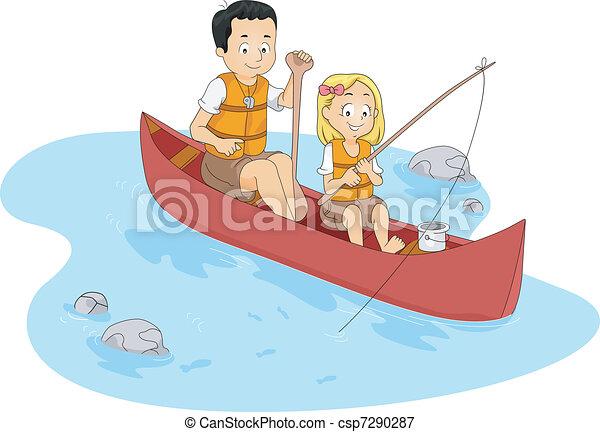 Fishing Camp - csp7290287