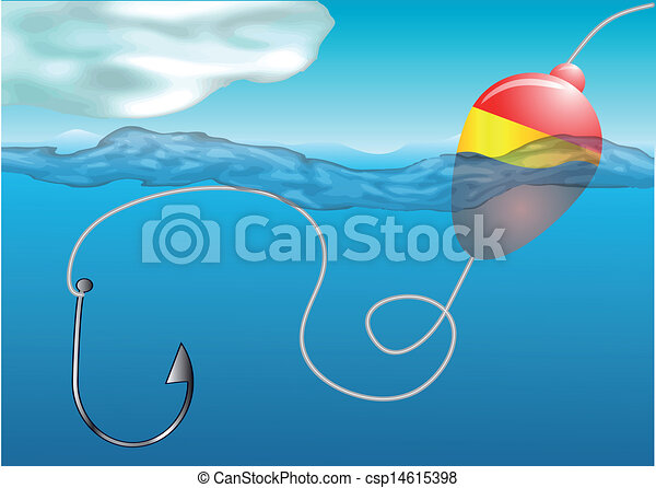 fishing float - csp14615398