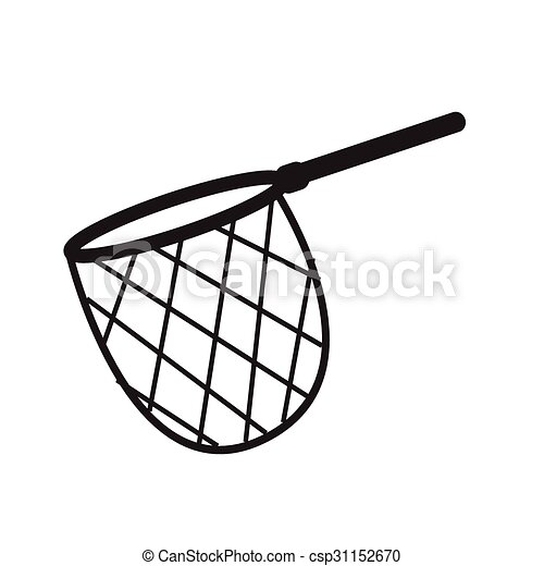 fishing hunting net icon vectors illustration search clipart rh canstockphoto com