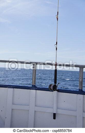 Fishing in the Gulf - csp6859784