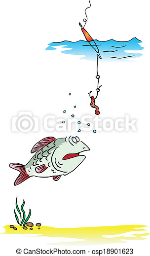 Fishing on the float rod - csp18901623