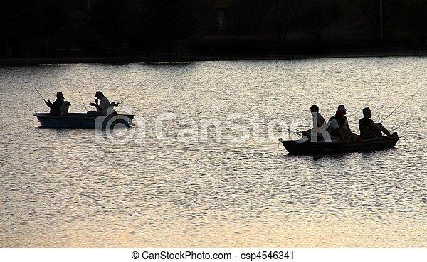 Fishing - csp4546341