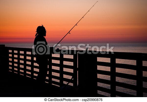 Fishing Pier - csp20990876