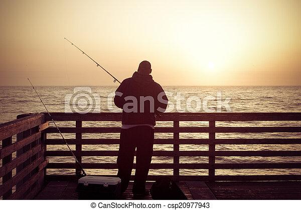 Fishing Pier - csp20977943