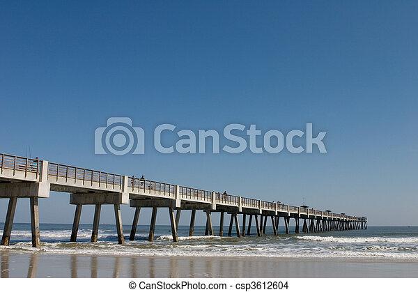 Fishing Pier - csp3612604