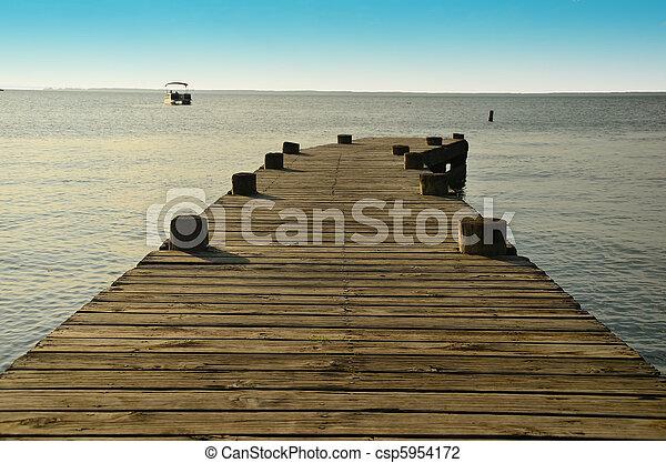 Fishing Pier - csp5954172