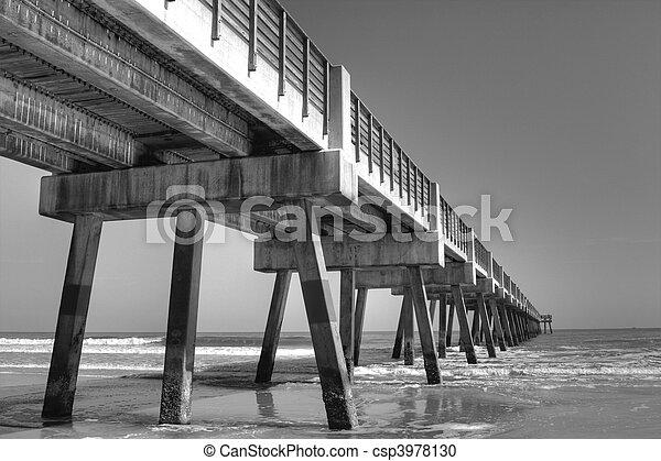 Fishing Pier - csp3978130