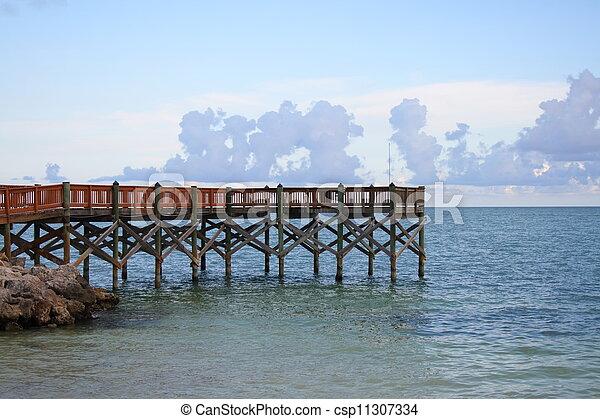 Fishing pier - csp11307334
