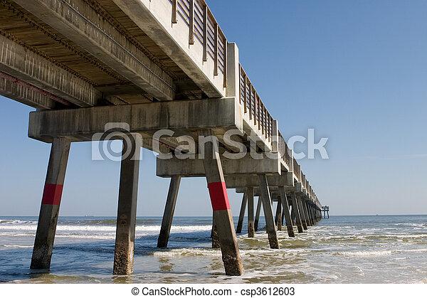 Fishing Pier - csp3612603