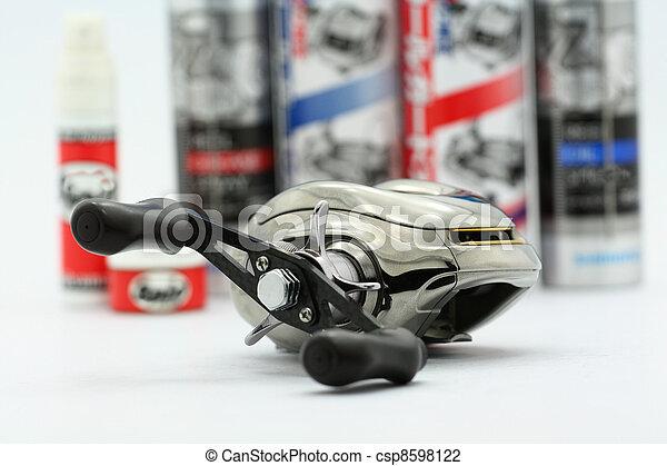 fishing reel - csp8598122