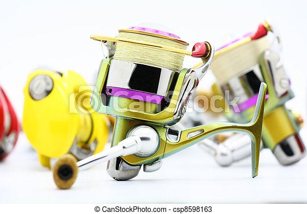fishing reel - csp8598163