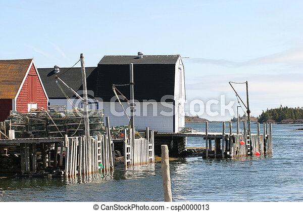 Fishing Shacks - csp0000013