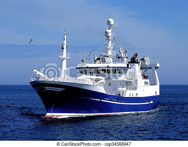 Fishing Vessel Purser - csp34566947