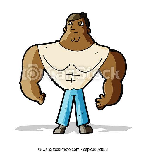 Constructor de cuerpos de dibujos animados - csp20802853