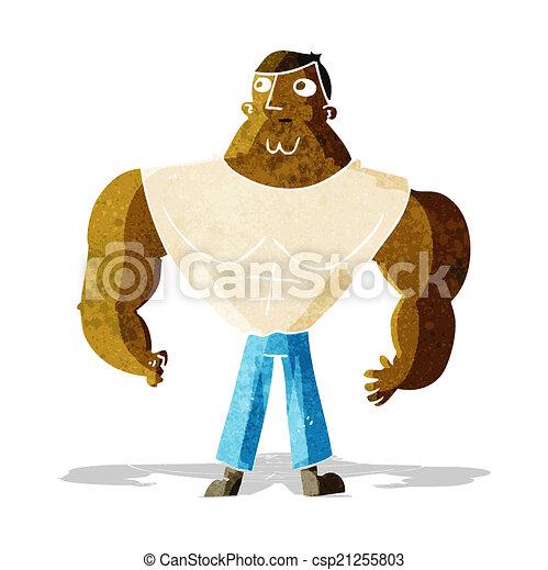 Constructor de cuerpos de dibujos animados - csp21255803