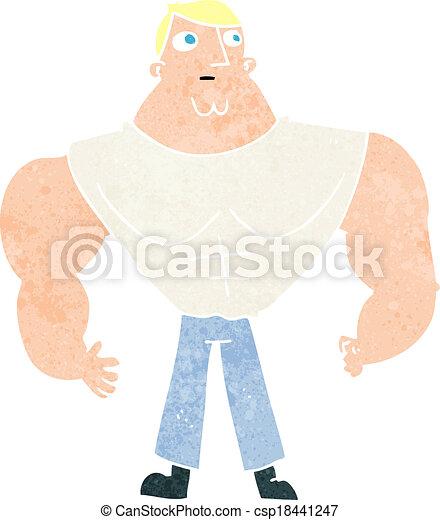 Constructor de cuerpos de dibujos animados - csp18441247