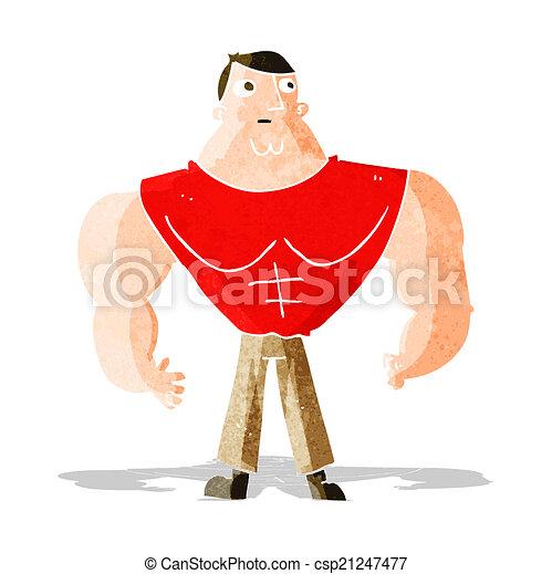 Constructor de cuerpos de dibujos animados - csp21247477