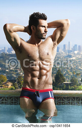 Fit sexy man - csp10411654