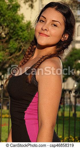 Fit Slender Female Teen
