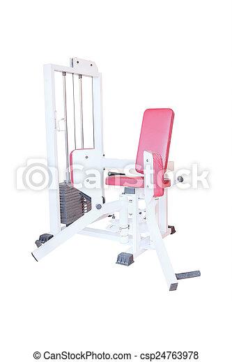 fitness center - csp24763978