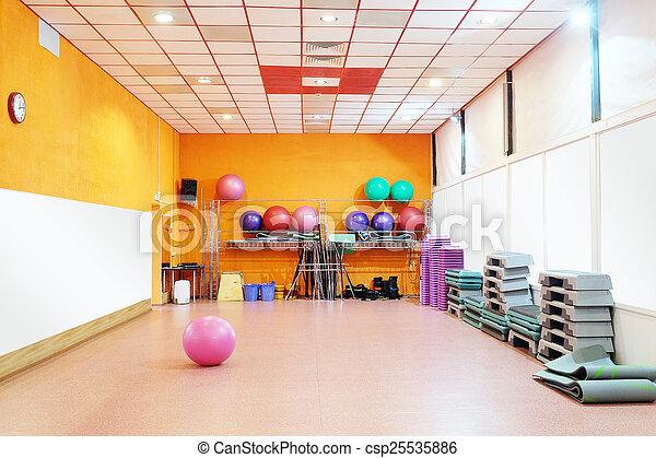 fitness center - csp25535886