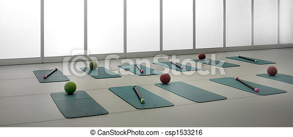fitness center - csp1533216