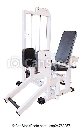 fitness center - csp24763957