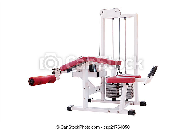 fitness center - csp24764050