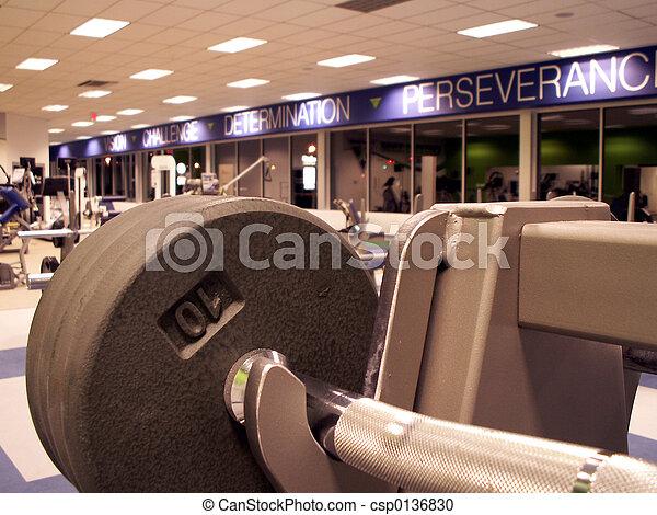 fitness center - csp0136830