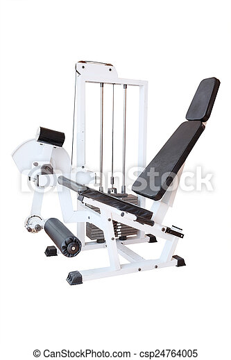 fitness center - csp24764005