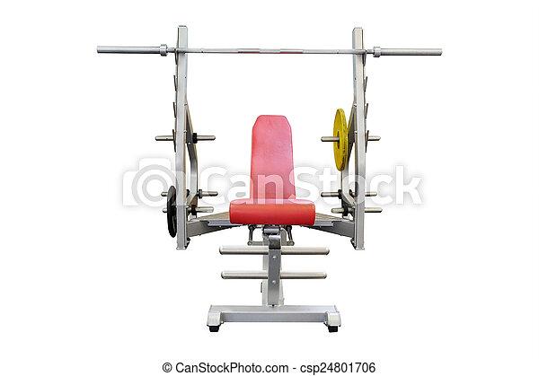 fitness center - csp24801706