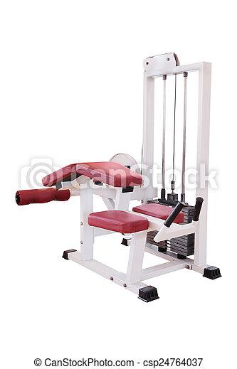 fitness center - csp24764037